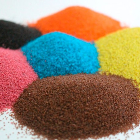 Цветной песок 200 мл