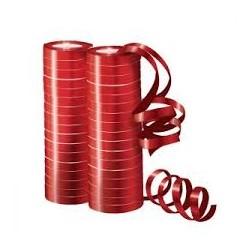 Серпантин фольгированный Металл Красный 4 м / 2 шт. (36 колец) (Китай)