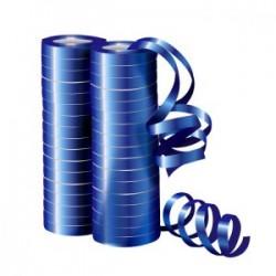 Серпантин фольгированный Металл Синий 4 м / 2 шт. (36 колец) (Китай)