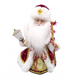 Дед Мороз 28см на бат. 141-878К