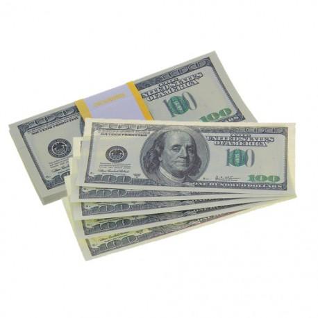 Пачка купюр 100 $ 770163