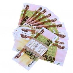 Пачка купюр 100 руб