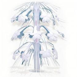 Каскад настол Цветы белые 35,7см/A