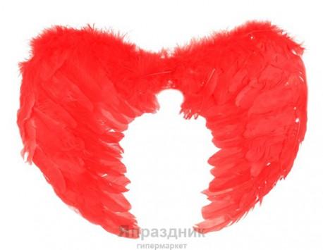 Крылья ангела 55*40 красные