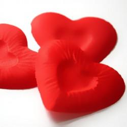 Лепестки в форме сердца, цвет красный 1195965