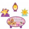 Набор свечей для торта Рапунцель 4шт