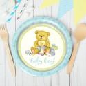 Набор тарелок Медвежонок 23см 8шт