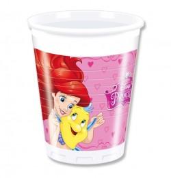 Набор стаканов Принцессы 8 шт