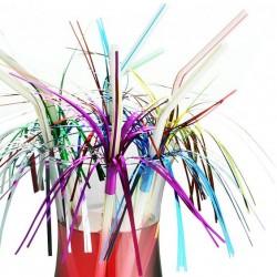 Набор трубочек Салют из фольги 12шт