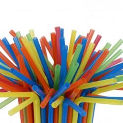Набор трубочек разноцветный 50шт