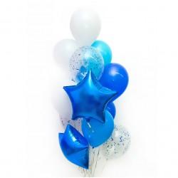 Набор шаров Синяя звезда