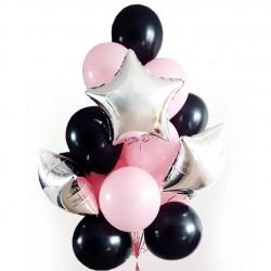 Набор шаров Розовый шик