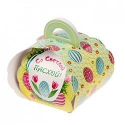 """Коробочка подарочная для яйца """"Со светлой пасхой! Писанки"""" 13,4*26,2 см 1746989"""