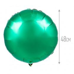 Шар Круг зеленый 48см