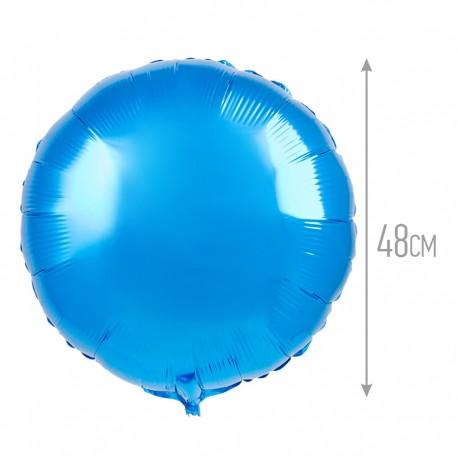 Шар Круг Синий 48см