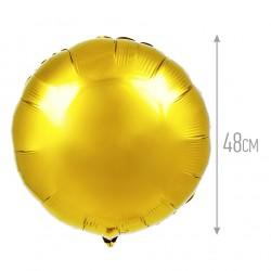 И 18 Круг Золото / Rnd gold / 1 шт / (Испания)