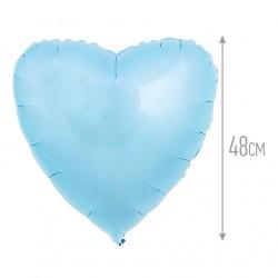 И 18 Сердце Светло-голубой / Heart Baby blue / 1 шт / (Испания)
