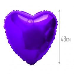 И 18 Сердце Фиолетовый / Heart Violet / 1 шт / (Испания)