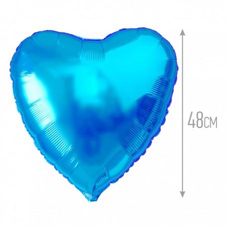 И 18 Сердце Синий / Heart Blue / 1 шт / (Испания)