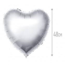 И 18 Сердце Серебро / Heart Silver / 1 шт / (Испания)