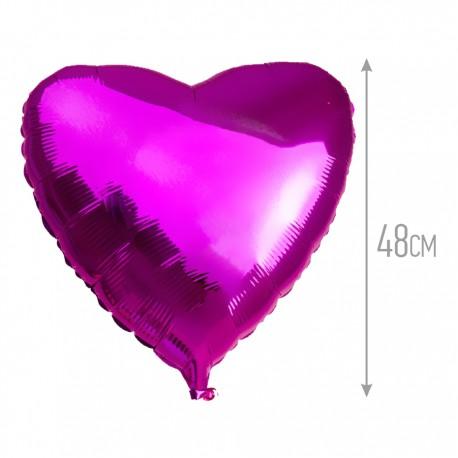 И 18 Сердце Лиловый / Heart Purple / 1 шт / (Испания)
