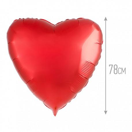 И 32 Сердце Красный / Heart Red / 1 шт / (Испания)