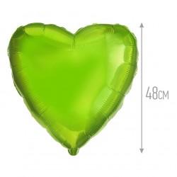 Сердце Лайм 48см