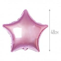 Звезда 48 см Розовый нежный