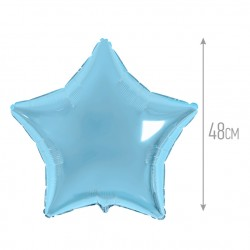 И 18 Звезда Светло-голубой/ Star blue baby/ 1 шт / (Испания)