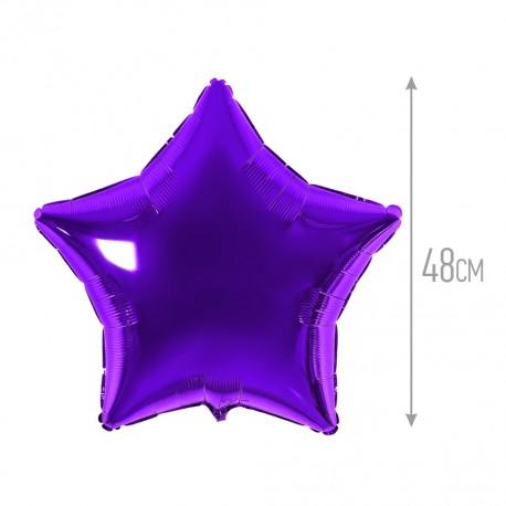 И 18 Звезда Фиолетовый / Star Quartz Purple / 1 шт / (Испания)