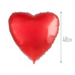 И 18 Сердце Красный / Heart Red / 1 шт / (Испания)