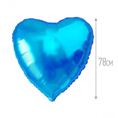И 32 Сердце Синий / Heart Blue / 1 шт / (Испания)