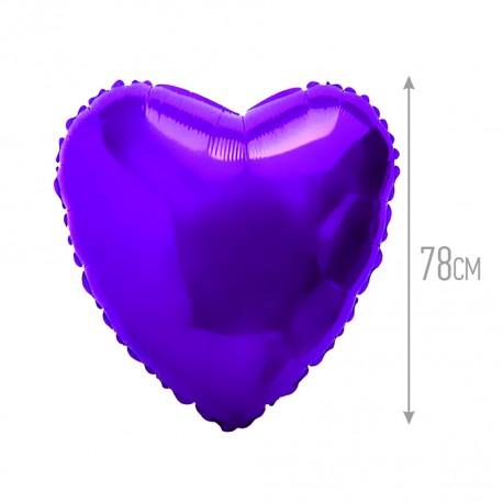 И 32 Сердце Фиолетовый / Heart Violet / 1 шт / (Испания)