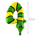 Шар фольгированный Цифра 4 Змея 41см
