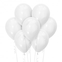 Набор из 7 шаров White Матовый 30 см