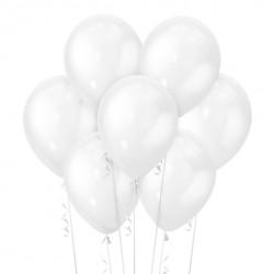 Набор из 7 шаров White Перламутр 30 см