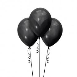 Набор из 3 шаров Черный Матовый 30 см
