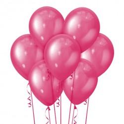Набор из 7 шаров Pink Металлик 30 см