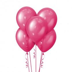 Набор из 5 шаров Pink Металлик 30 см