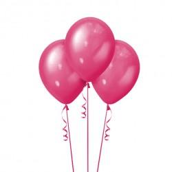 Набор из 3 шаров Pink Металлик 30 см