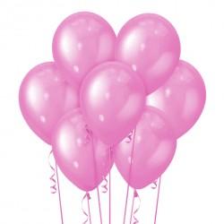 Набор из 7 шаров Mexican Pink Металлик 30 см