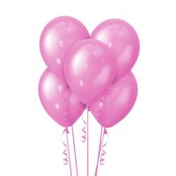 Набор из 5 шаров Mexican Pink Металлик 30 см