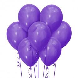 Набор из 7 шаров Фиолетовый Матовый 30 см