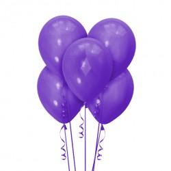 Набор из 5 шаров Фиолетовый Матовый 30 см