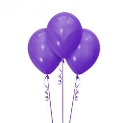Набор из 3 шаров Фиолетовый Матовый 30 см