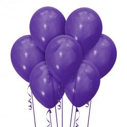 Набор из 7 шаров Purple Матовый 30 см