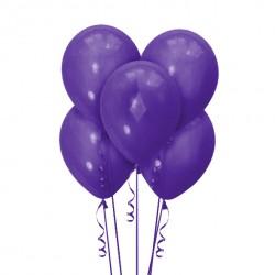 Набор из 5 шаров Purple Матовый 30 см