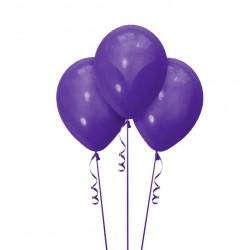 Набор из 3 шаров Purple Матовый 30 см