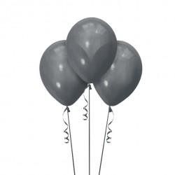 Набор из 3 шаров Графит Металлик 30 см