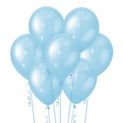 Набор из 7 шаров Blue Перламутр 30 см